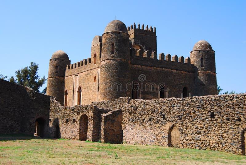Palácio de Fasiladas fotos de stock royalty free