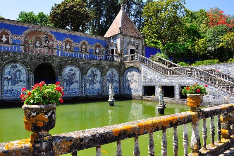 Palácio de Fronteira em Lisboa, Portugal imagens de stock