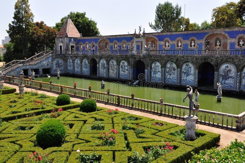 Download Palácio De Fronteira Em Lisboa, Portugal Imagem de Stock Editorial - Imagem de vermelho, jardins: 26504949