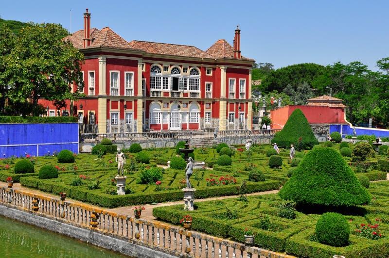 Download Palácio De Fronteira Em Lisboa, Portugal Fotografia Editorial - Imagem de arbusto, flores: 26504952