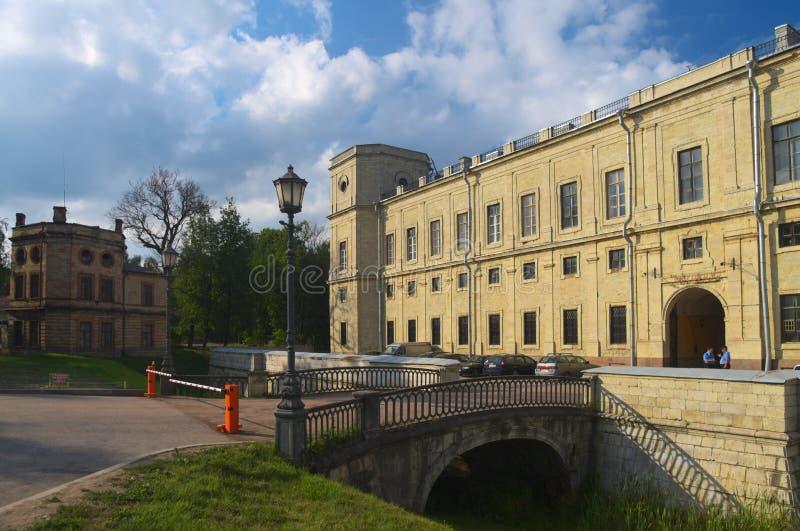Palácio de Gatchina imagem de stock