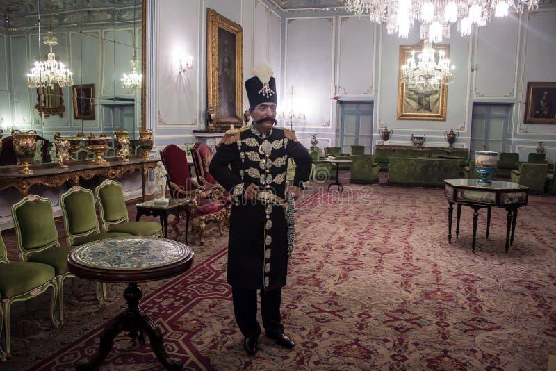 Palácio de Golestan em Tehran foto de stock