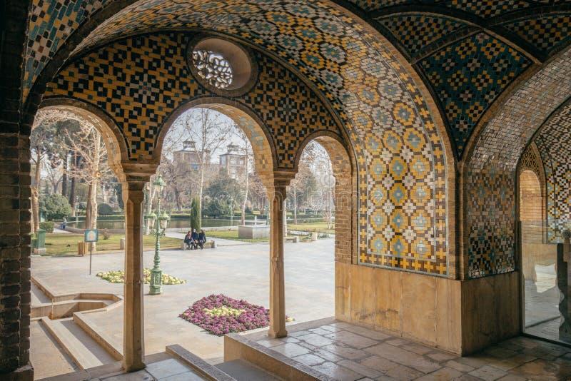 Palácio de Golestan, Tehran foto de stock royalty free