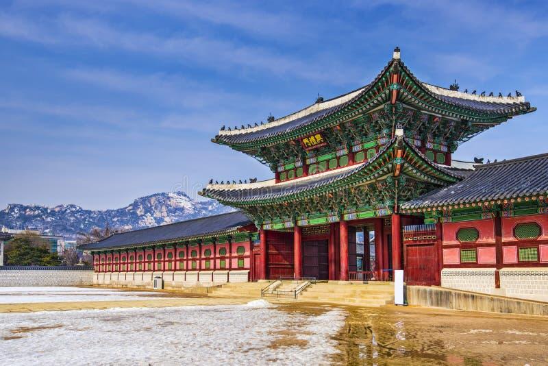 Palácio de Gyeongbokgung foto de stock