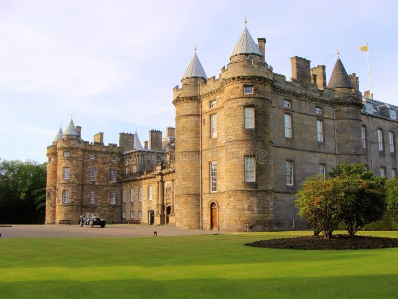 Palácio de Holyrood foto de stock