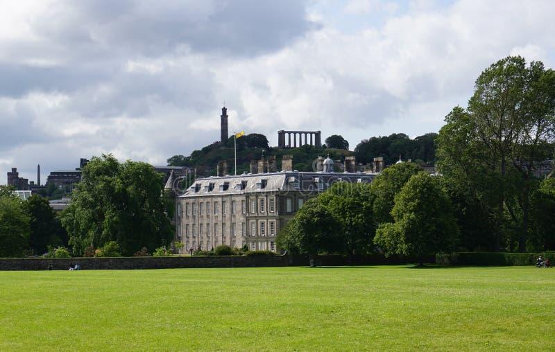 Palácio de Holyrood, Edimburgo, Scotland fotografia de stock royalty free