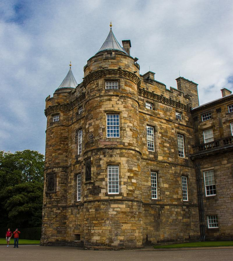 Palácio de Holyroodhouse fotos de stock