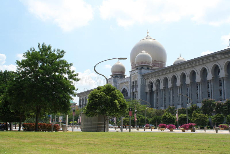 Palácio de justiça. imagens de stock royalty free