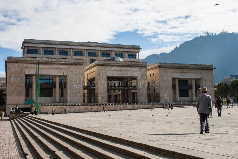Palácio de justiça fotografia de stock royalty free