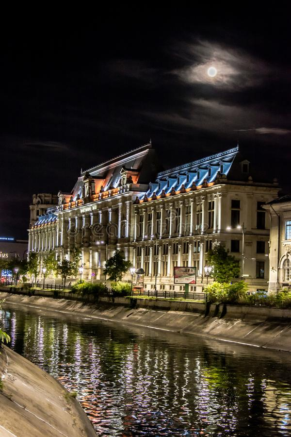 Palácio de justiça, Bucareste fotos de stock