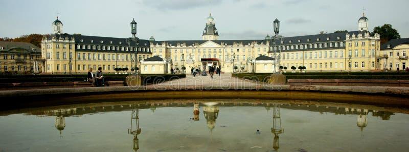 Palácio de Karlsruhe fotografia de stock royalty free