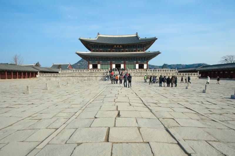 Palácio de Kyongbok imagem de stock royalty free