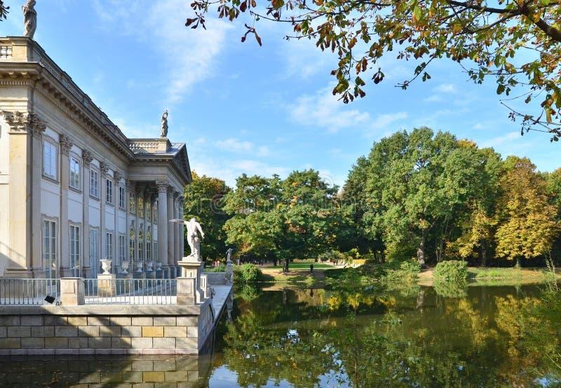 Palácio de Lazienki foto de stock royalty free