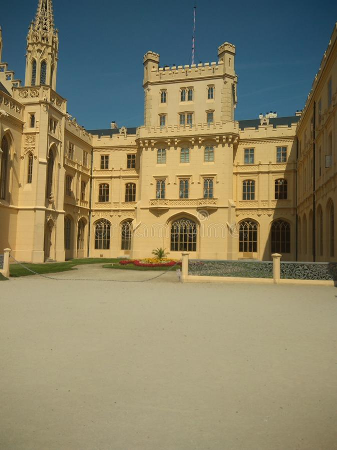 Palácio de Lednice foto de stock