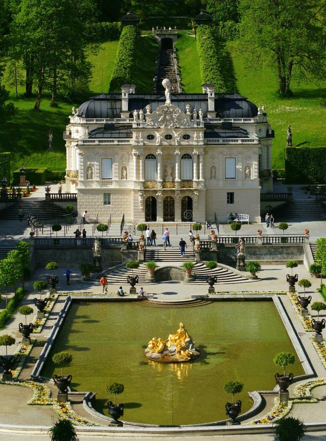 Palácio de Linderhof imagem de stock royalty free