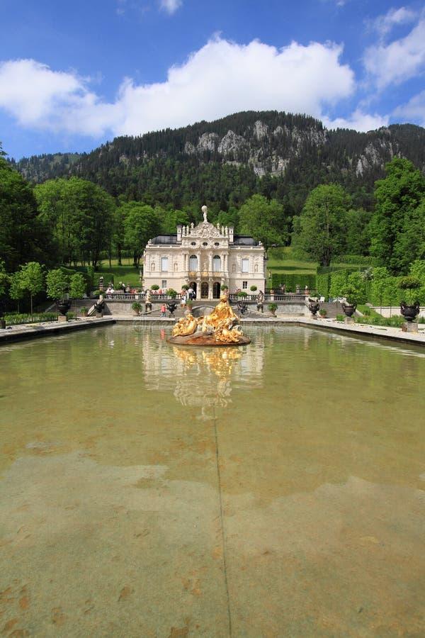 Palácio de Linderhof, Alemanha foto de stock