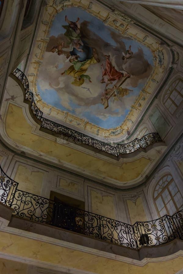 Palácio de Lobkowicz mim fotografia de stock royalty free