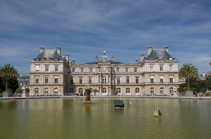 Palácio de Luxemburgo foto de stock royalty free