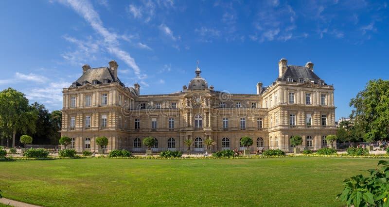 Palácio de Luxemburgo em Paris França imagem de stock
