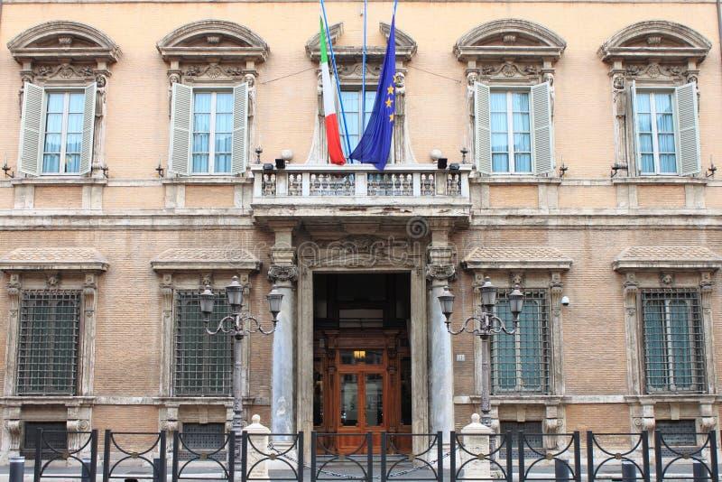 Palácio de Madama em Roma imagens de stock
