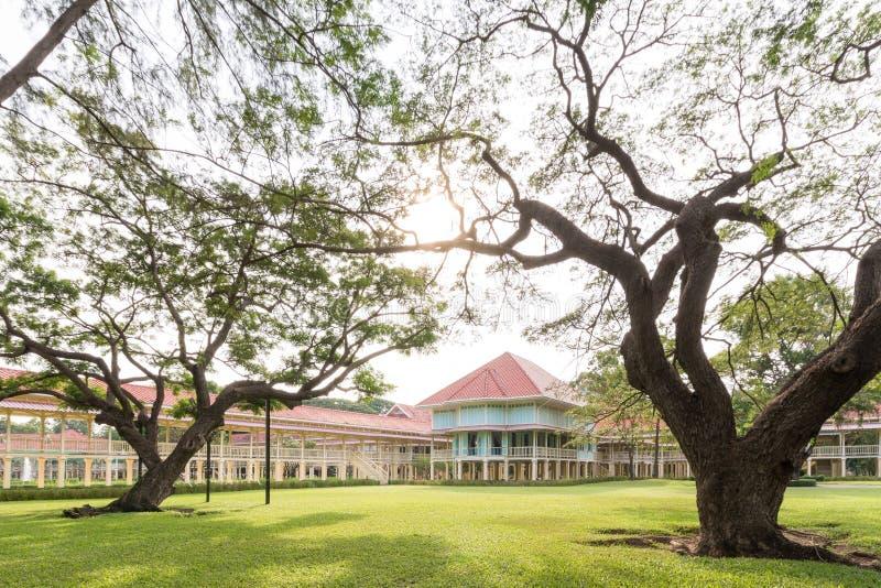 Palácio de Maruekatayawan imagem de stock