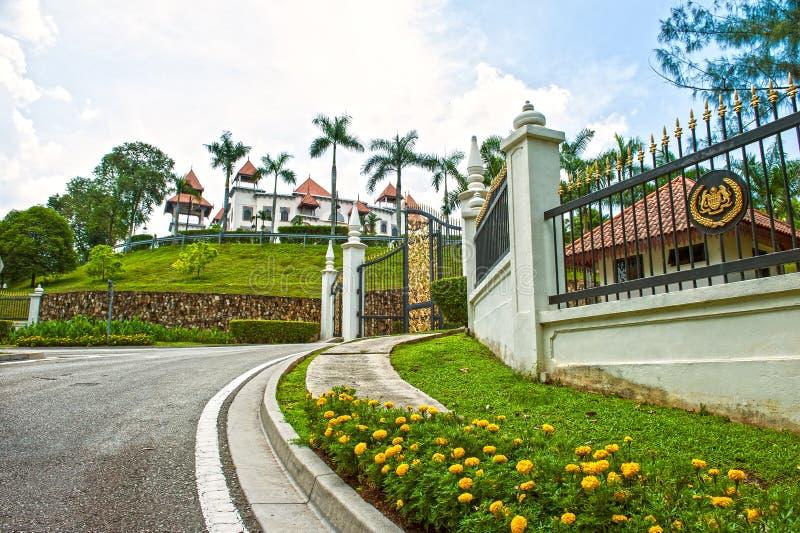 PALÁCIO DE MELAWATI - PUTRAJAYA imagem de stock royalty free