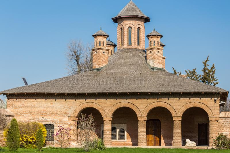 Palácio de Mogosoaia fotos de stock
