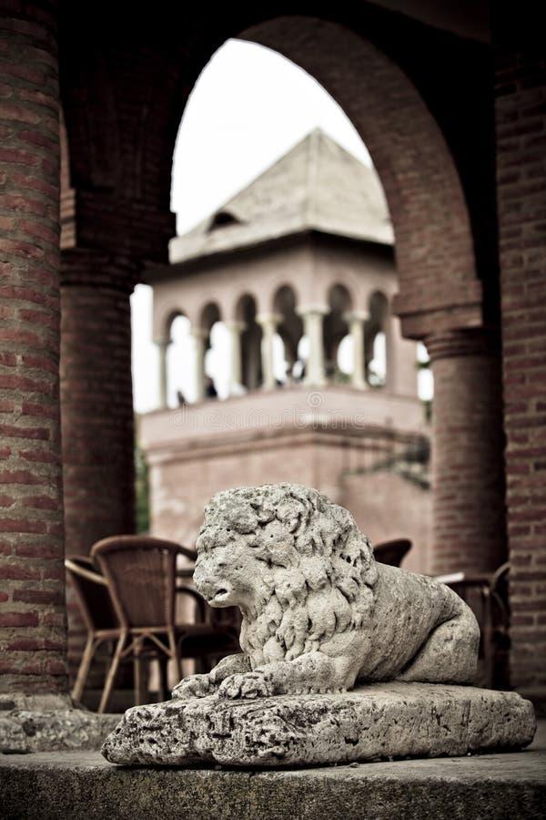 Palácio de Mogosoaia fotografia de stock royalty free