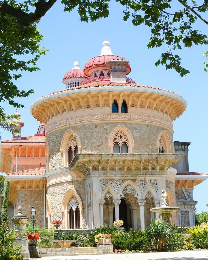 Palácio de Monserrate em Sintra, Portugal foto de stock royalty free
