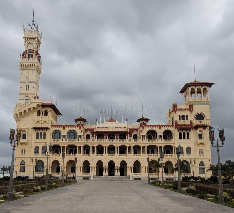 Palácio de Montazah fotos de stock