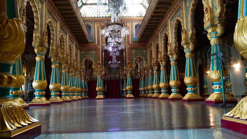 Palácio de Mysore, Índia imagens de stock