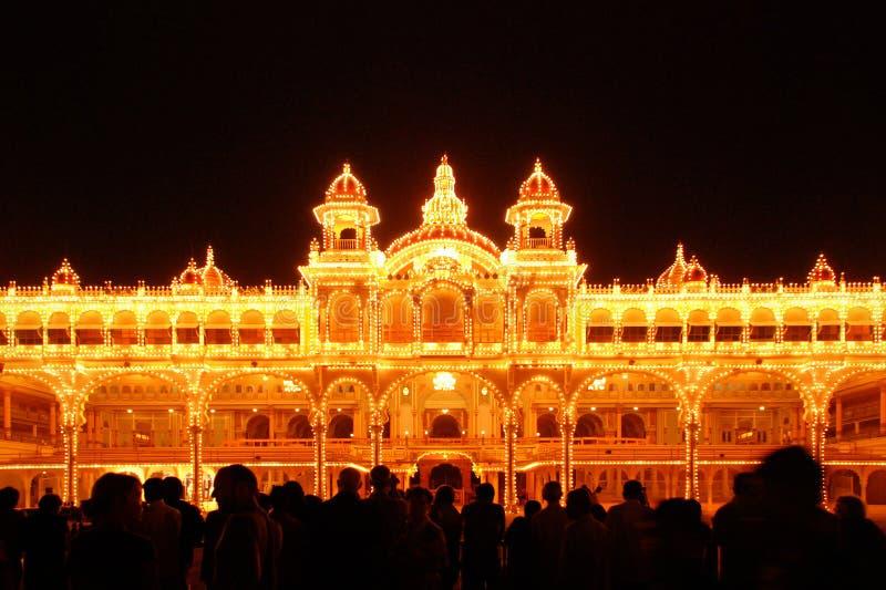Palácio de Mysore imagem de stock royalty free