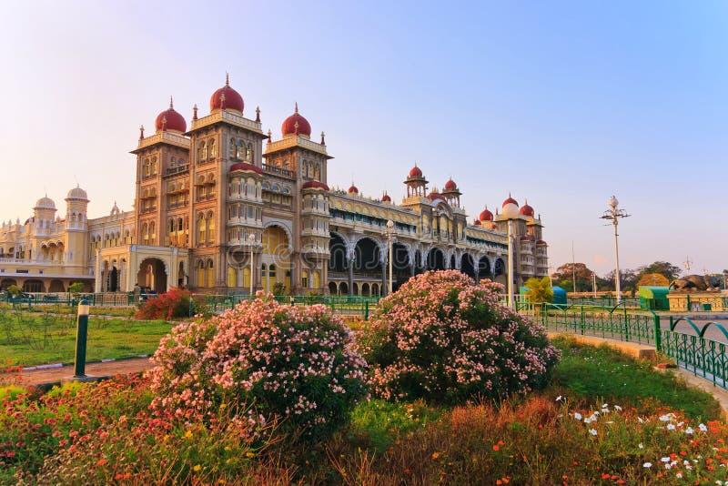 Palácio de Mysore foto de stock