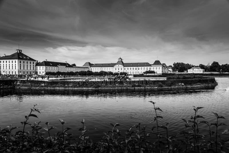 Palácio de Nymphenburg em Munich, Alemanha imagens de stock