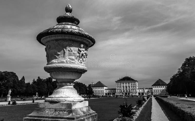 Palácio de Nymphenburg em Munich, Alemanha fotos de stock