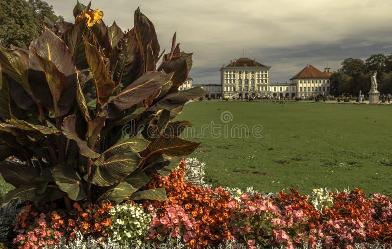 Palácio de Nymphenburg em Munich, Alemanha fotos de stock royalty free