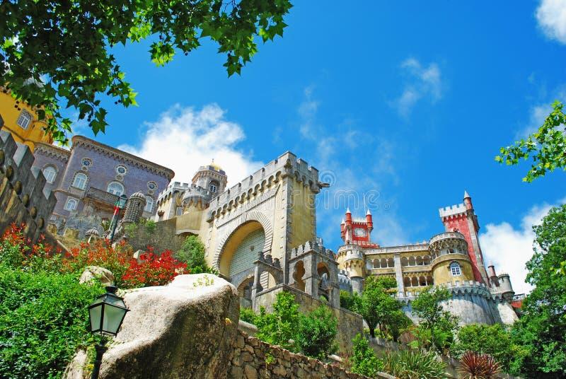 Palácio de Pena fotografia de stock