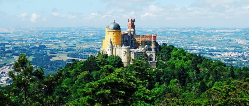 Palácio de Pena imagens de stock royalty free
