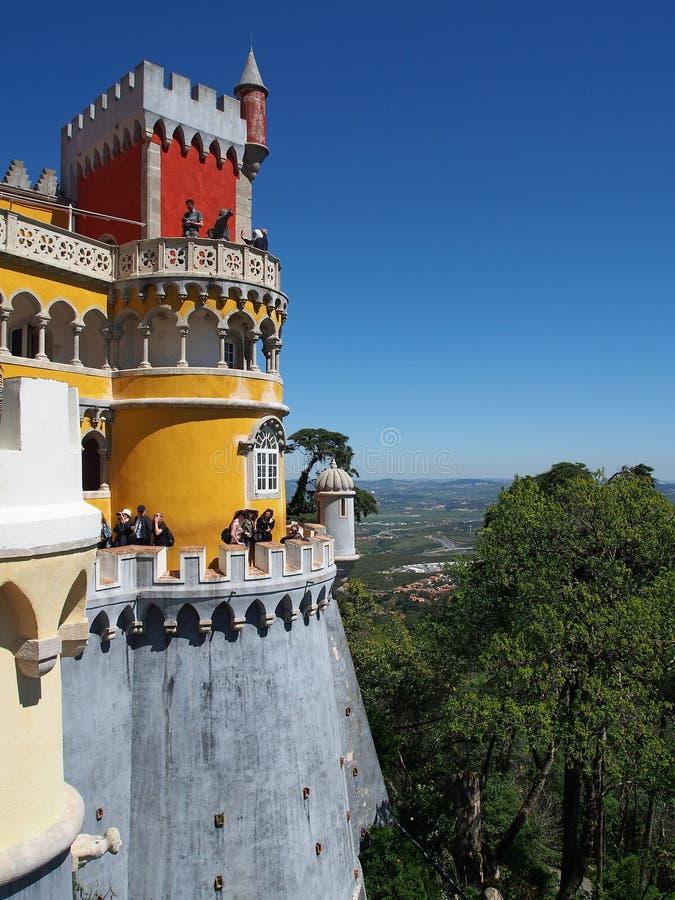Palácio de Pena no sintra Portugal fotos de stock