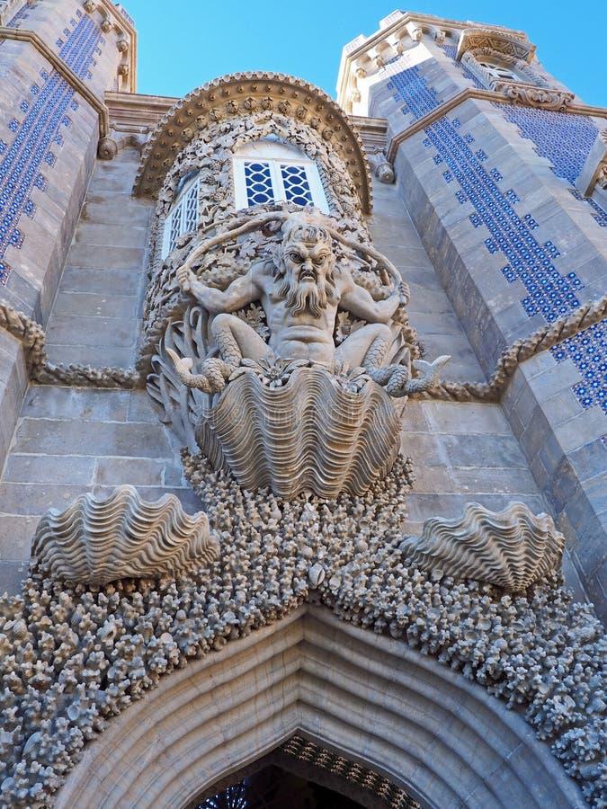 Download Palácio De Pena, Sintra, Portugal Foto de Stock - Imagem de tourism, europa: 80100614