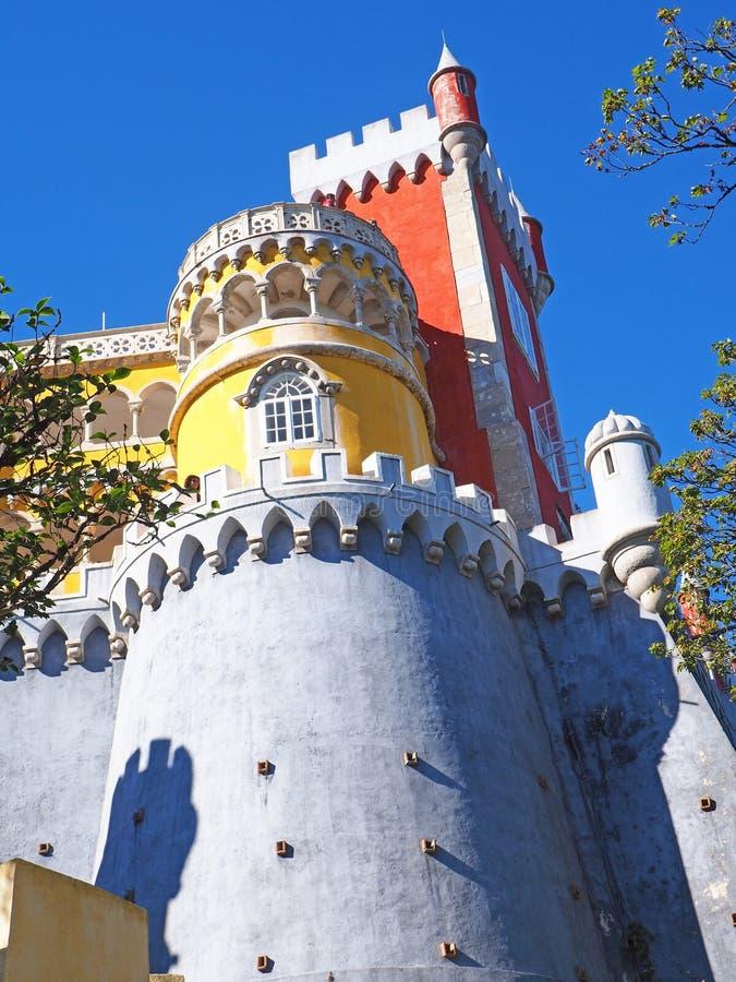 Download Palácio De Pena, Sintra, Portugal Imagem de Stock - Imagem de europa, colorido: 80100987