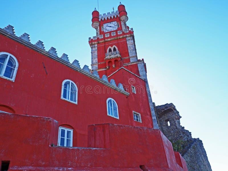 Download Palácio De Pena, Sintra, Portugal Foto de Stock - Imagem de moorish, gothic: 80102646