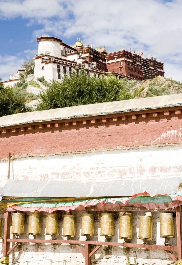 Palácio de Potala, Lhasa, Tibet fotografia de stock royalty free