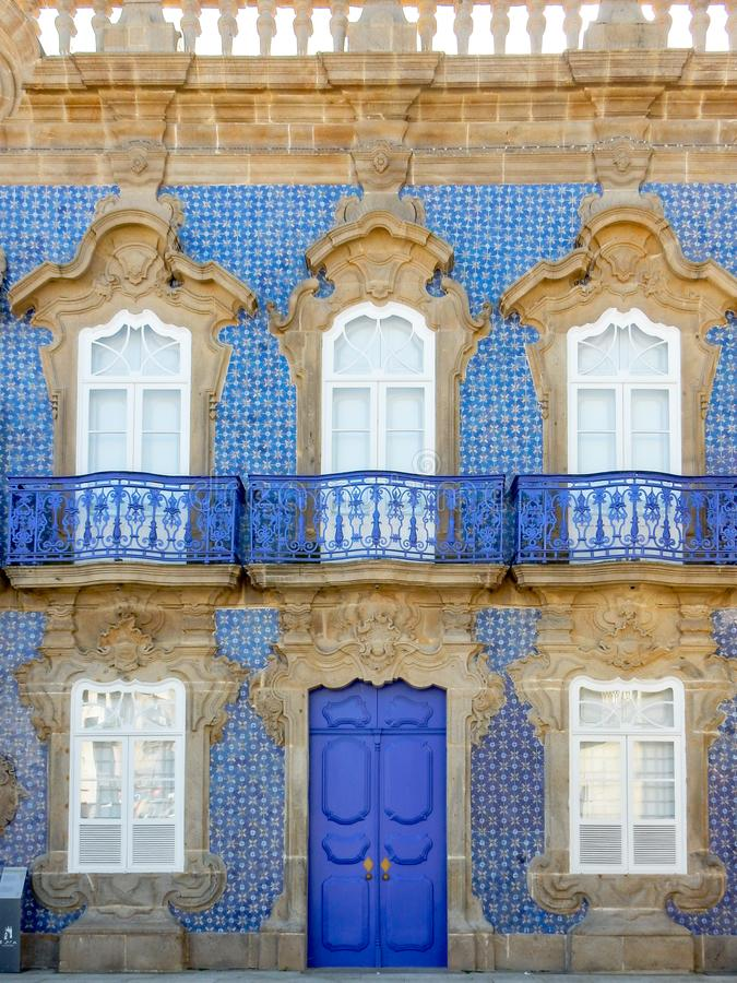 Palácio de Raio em Braga Portugal foto de stock royalty free