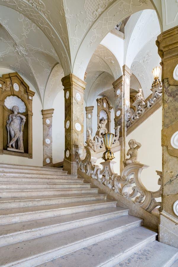 Palácio de Salzburg Residenz em Salzburg, Áustria fotos de stock royalty free