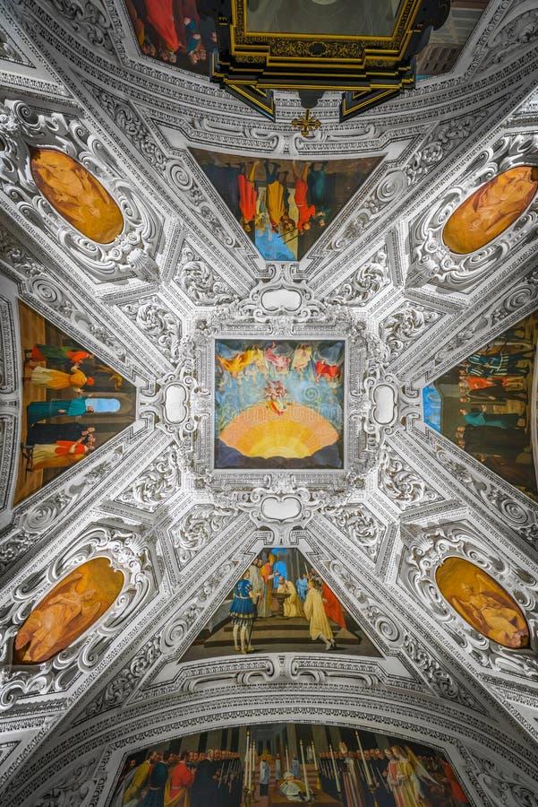 Palácio de Salzburg Residenz em Salzburg, Áustria fotografia de stock royalty free