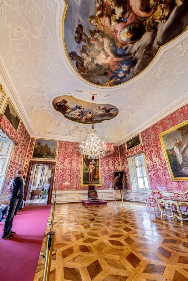 Palácio de Salzburg Residenz em Salzburg, Áustria foto de stock