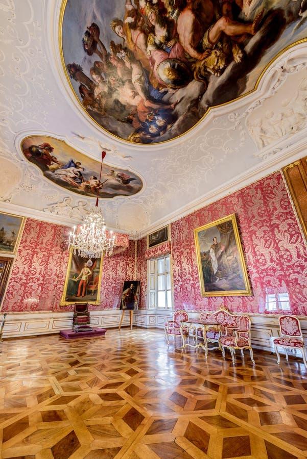 Palácio de Salzburg Residenz em Salzburg, Áustria imagens de stock