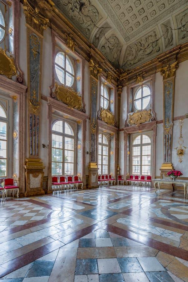 Palácio de Salzburg Residenz em Salzburg, Áustria imagens de stock royalty free