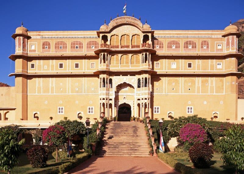 Palácio de Samode, Índia. imagem de stock royalty free
